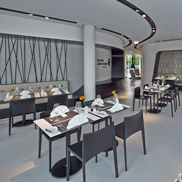 restaurant fr hst ck campus at home de. Black Bedroom Furniture Sets. Home Design Ideas